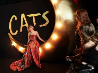 "World premiere of ""Cats"" in New York"