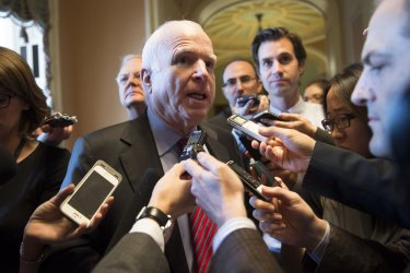Senate works to end the Shutdown and Raise the Debt Limit on Capitol Hill in Washington, D.C.