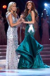 Alyssa Campanella, Miss California USA 2011, is crowned Miss USA in Las Vegas