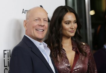 "Bruce Willis at the ""Motherless Brooklyn"" premiere"