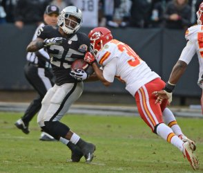 Oakland Raiders vs. Kansas City Chiefs in Oakland, California