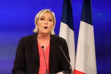 Paris Marine Le Pen