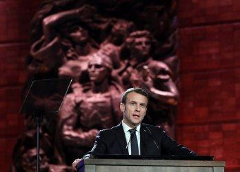 French President Speaks at World Holocaust Forum