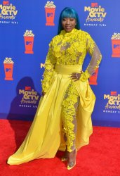 Spice attends the MTV Movie & TV Awards in Santa Monica, California