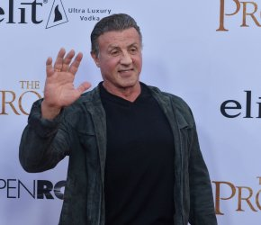 """Sylvester Stallone attends """"The Promise"""" premiere in Los Angeles"""