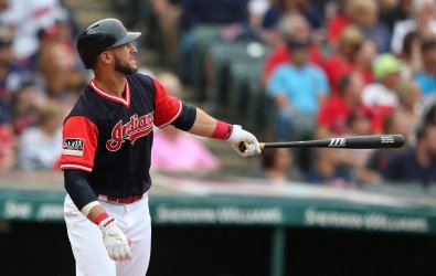 Indians Gomes hits a grand slam against the Royals