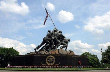 Iwo Jima Memorial in Washington
