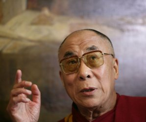 Dalai Lama Press Conference in London
