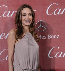 Angelina Jolie attends the Palm Springs International Film Festival in Palm Springs, California