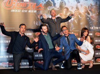 """""""Avengers: Age of Ultron"""" premiere in Seoul"""