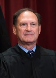 Supreme Court Justice Official Photo in Washington, D.C.