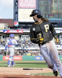 Pittsburgh Pirates Andrew McCutchen Scores in Pittsburgh