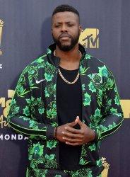 Winston Duke attends the 2018 MTV Movie & TV Awards in Santa Monica, California