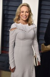 Faye Dunaway arrives for the Vanity Fair Oscar Party in Beverly Hills