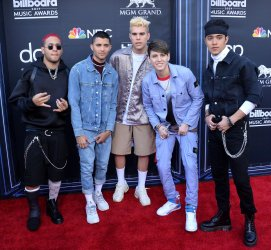 CNCO attends the 2019 Billboard Music Awards in Las Vegas