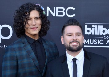 Dan Smyers and Shay Mooney attend the 2019 Billboard Music Awards in Las Vegas