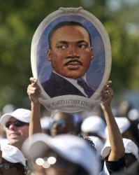 Martin Luther King Memorial dedication in Washington