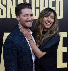 """Mathew Morrison and Renee Puente attend the """"Snatched"""" premiere in Los Angeles"""