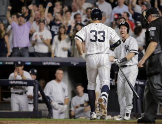 Yankees Bird homers against Indians in 2017 MLB Playoffs American League Divisional Series Game 3