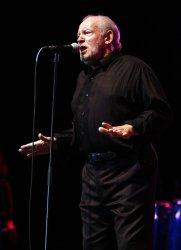 Joe Cocker performs in concert in Pompano Beach, Florida