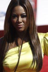 Model Kenya Moore attends BET Awards 12 in Los Angeles