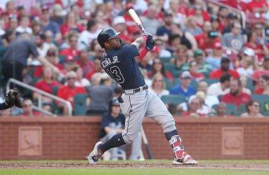 Atlanta Braves Ronald Acuna Jr. hits two run home run