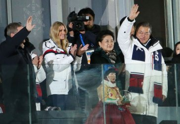 Closing Ceremony for the Pyeongchang 2018 Winter Olympics