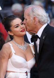 Selena Gomez and Bill Murray attend the Cannes Film Festival