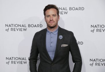 Armie Hammer arrives at The National Board of Review in New York