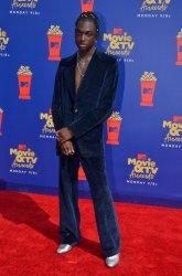 Rickey Thompson attends the MTV Movie & TV Awards in Santa Monica, California