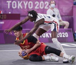 Womens 3X3 Basketball at Tokyo Olympics
