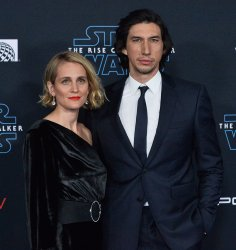 "Adam Driver and Joanne Tucker attend ""Star Wars: The Rise of Skywalker"" premiere in Los Angeles"
