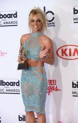 Singer Britney Spears, recipient of the Millennium Award at the Billboard Music Awards in Las Vegas