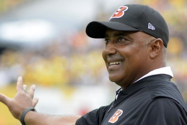 Cincinnati Bengals head coach Marvin Lewis in Pittsburgh
