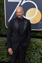 Rapper Common attends the 75th annual Golden Globe Awards in Beverly Hills