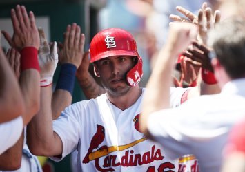St. Louis Cardinals Paul Goldschmidt hits two run home run
