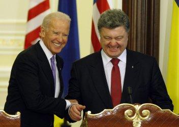 VPJoe Biden meets with Ukrainian President Poroshenko