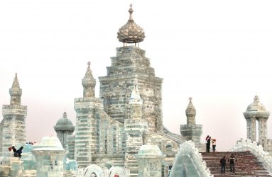 The 13th Harbin Ice and Snow Festival opens in Harbin