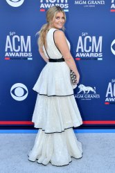 Lauren Alaina attends the Academy of Country Music Awards in Las Vegas