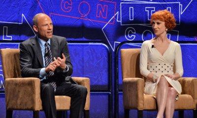 Michael Avenatti and Kathy Griffin attend Politicon in Los Angeles