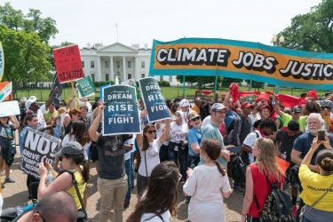 Thousands gather for The Peoples Climate Movement