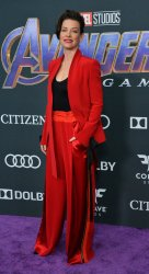 """Evangeline Lilly attends """"Avengers: Endgame"""" premiere in Los Angeles"""