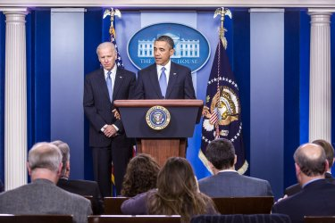 President Obama Makes Statement On Fiscal Cliff Budget Deal in Washington