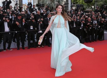 Frederique Bel attends the Cannes Film Festival