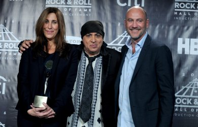 Steven Van Zandt at the Rock And Roll Hall Of Fame Induction