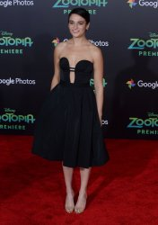 "Jenny Slate attends the ""Zootopia"" premiere in Los Angeles"