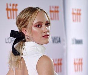 Maika Monroe attends 'Greta' premiere at Toronto Film Festival 2018