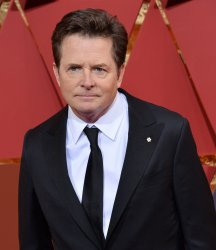 Michael J. Fox arrives for the 89th annual Academy Awards in Hollywood