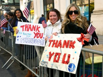 2018 Veterans Day Parade in New York