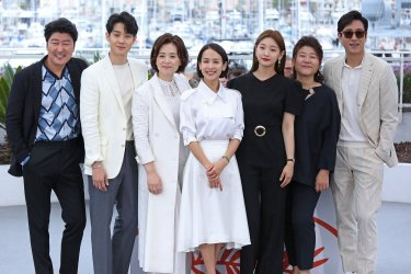 """The cast from """"Parasite"""" attends the Cannes Film Festival"""